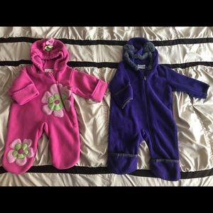 3-6 M One piece winter suite (2)